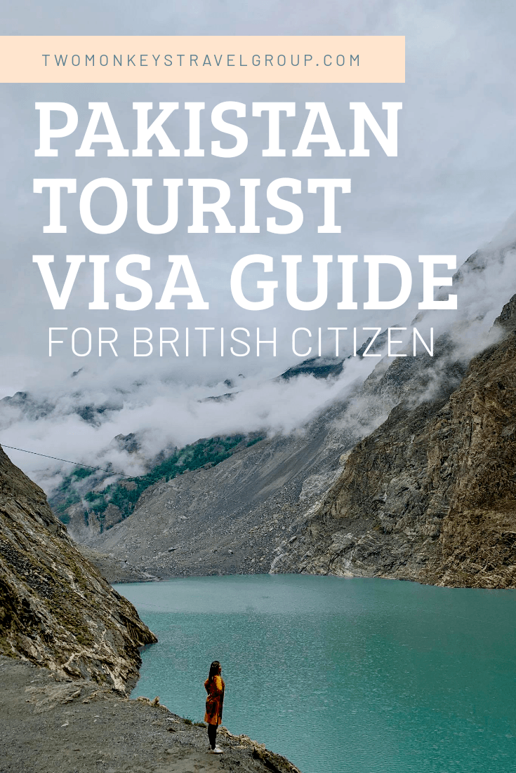 Pakistan Tourist Visa for UK Citizens