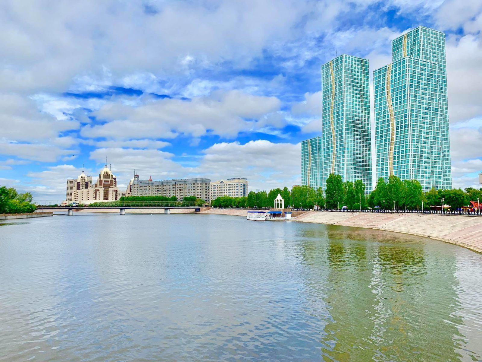Staying at The Ritz Carlton Astana9