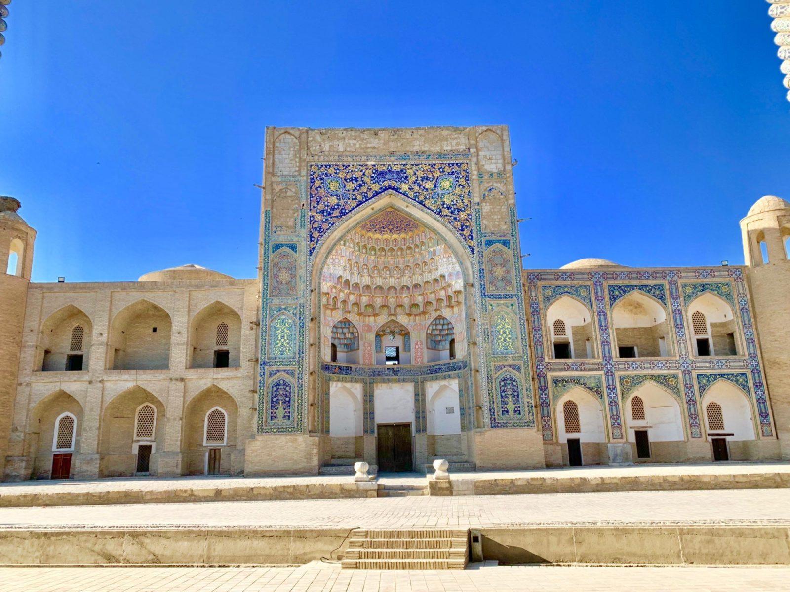 Train Ride and Overland Adventure in Uzbekistan
