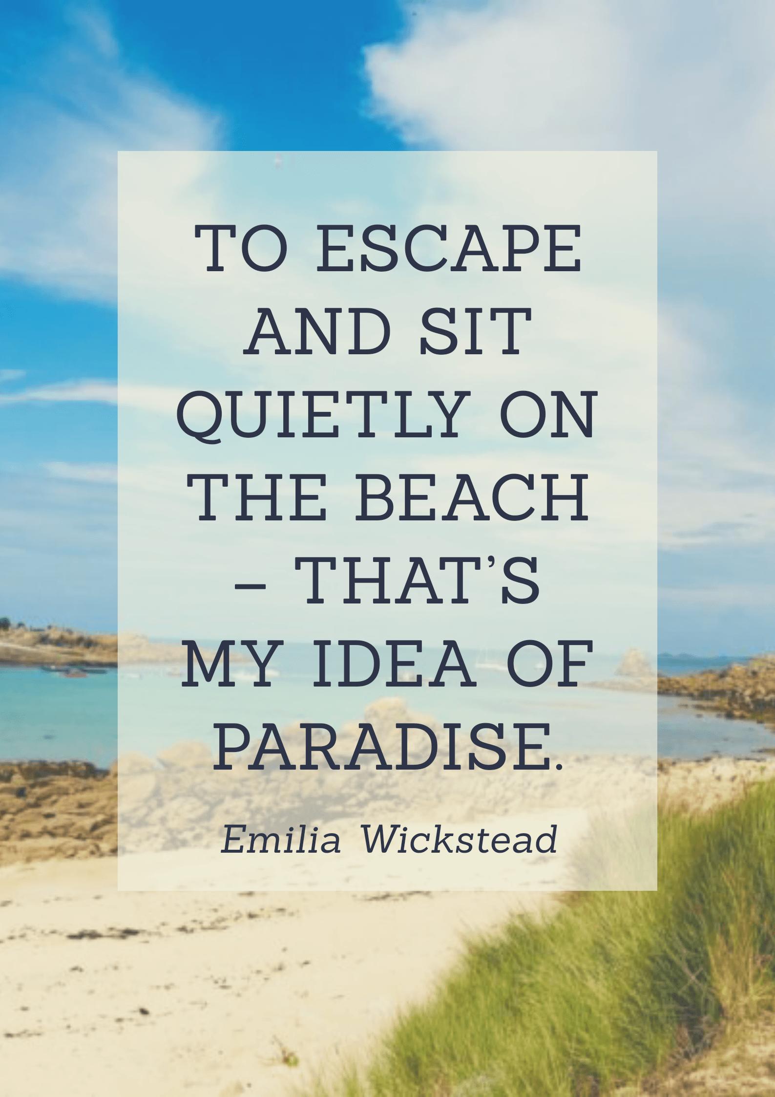 Best Beach Quotes