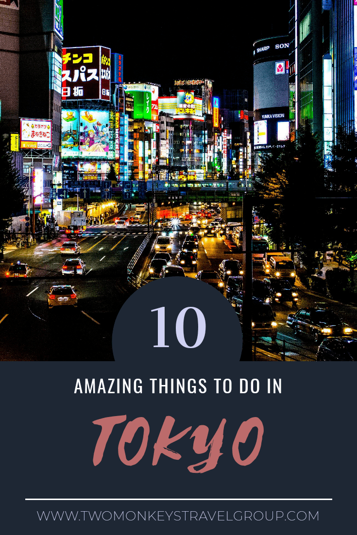 Amazing Things to do in Tokyo