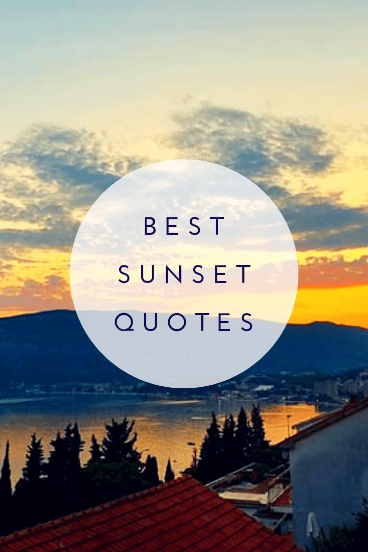 Best Sunset Quotes23
