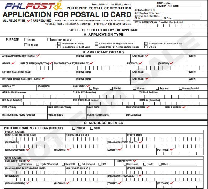 How to Apply for a Philippine Postal ID1
