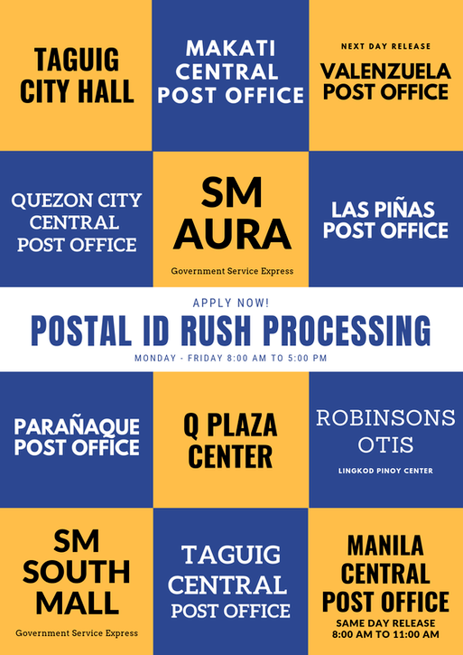 How to Apply for a Philippine Postal ID2