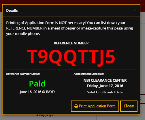 How to Get NBI Clearance Online9