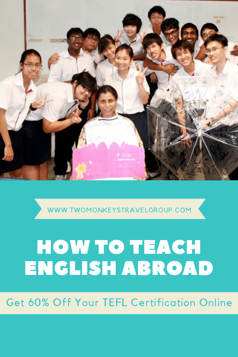 How to Teach English Abroad Get 60% OFF Your TEFL Certification Online