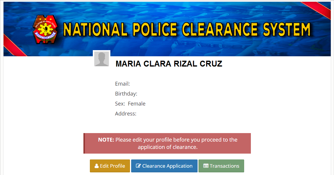 How to apply Police Clearance Online3