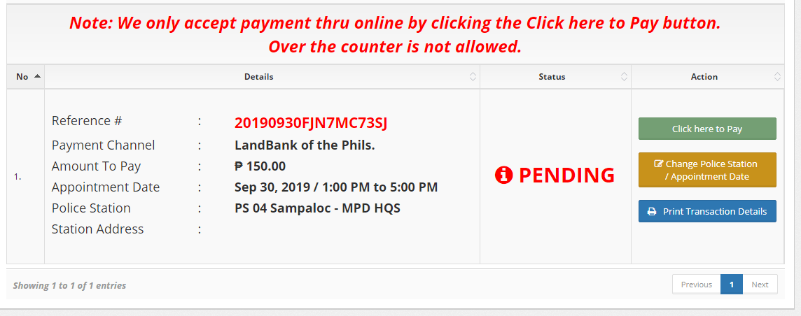 How to apply Police Clearance Online5