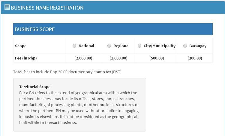 How to register your business in DTI1