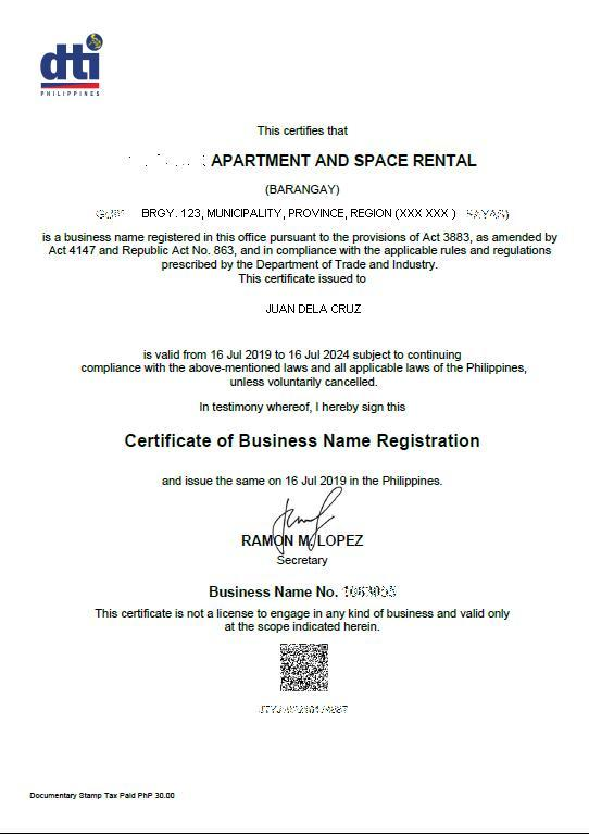 How to register your business in DTI3