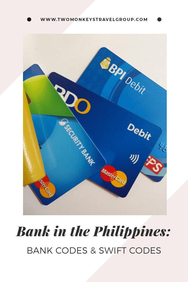 Philippines Bank Code & Swift Codes