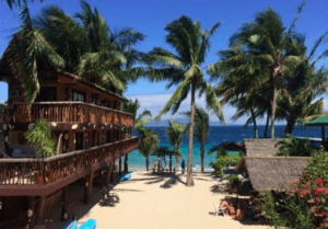 best hotels in Puerto Galera Talipanan Beach Bamboo House Beach Lodge Hotel