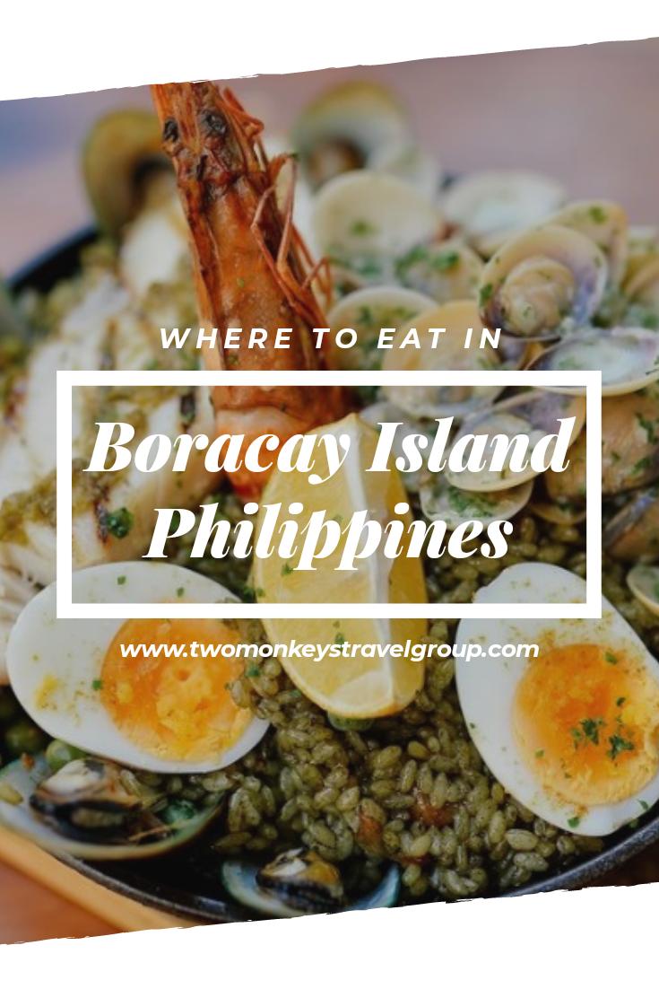 Boracay Food Where to Eat in Boracay Island, Philippines