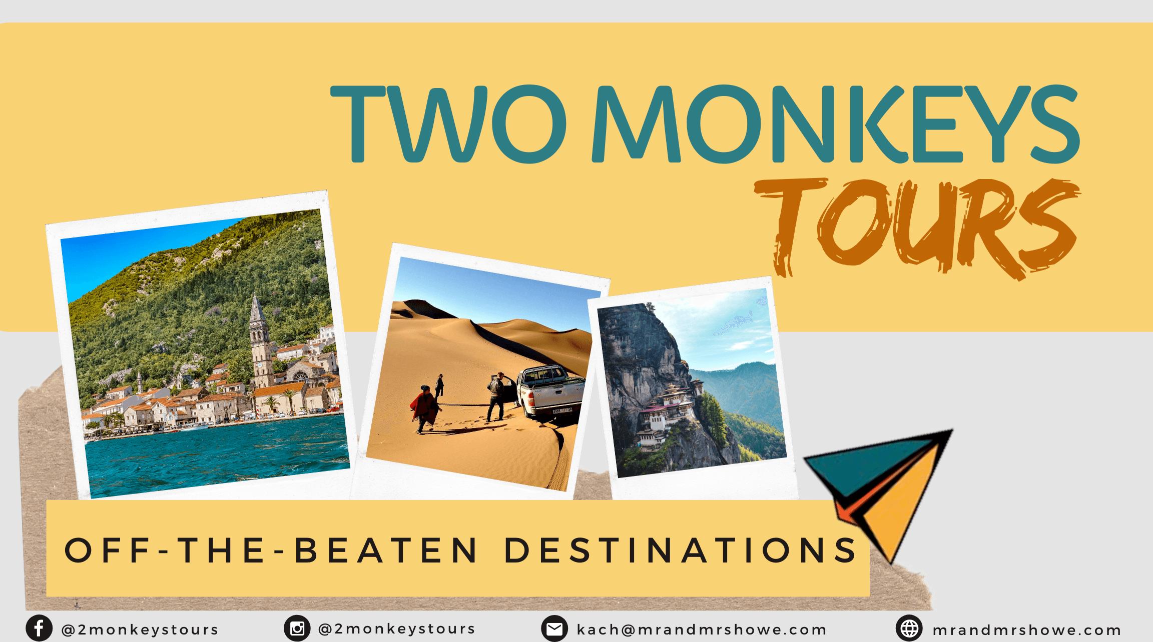 Two Monkeys Journey