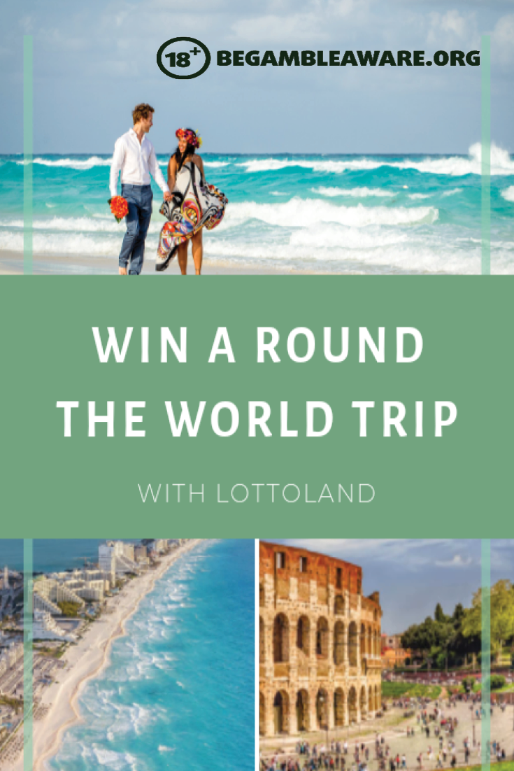 Win a Round the World Trip with Lottoland
