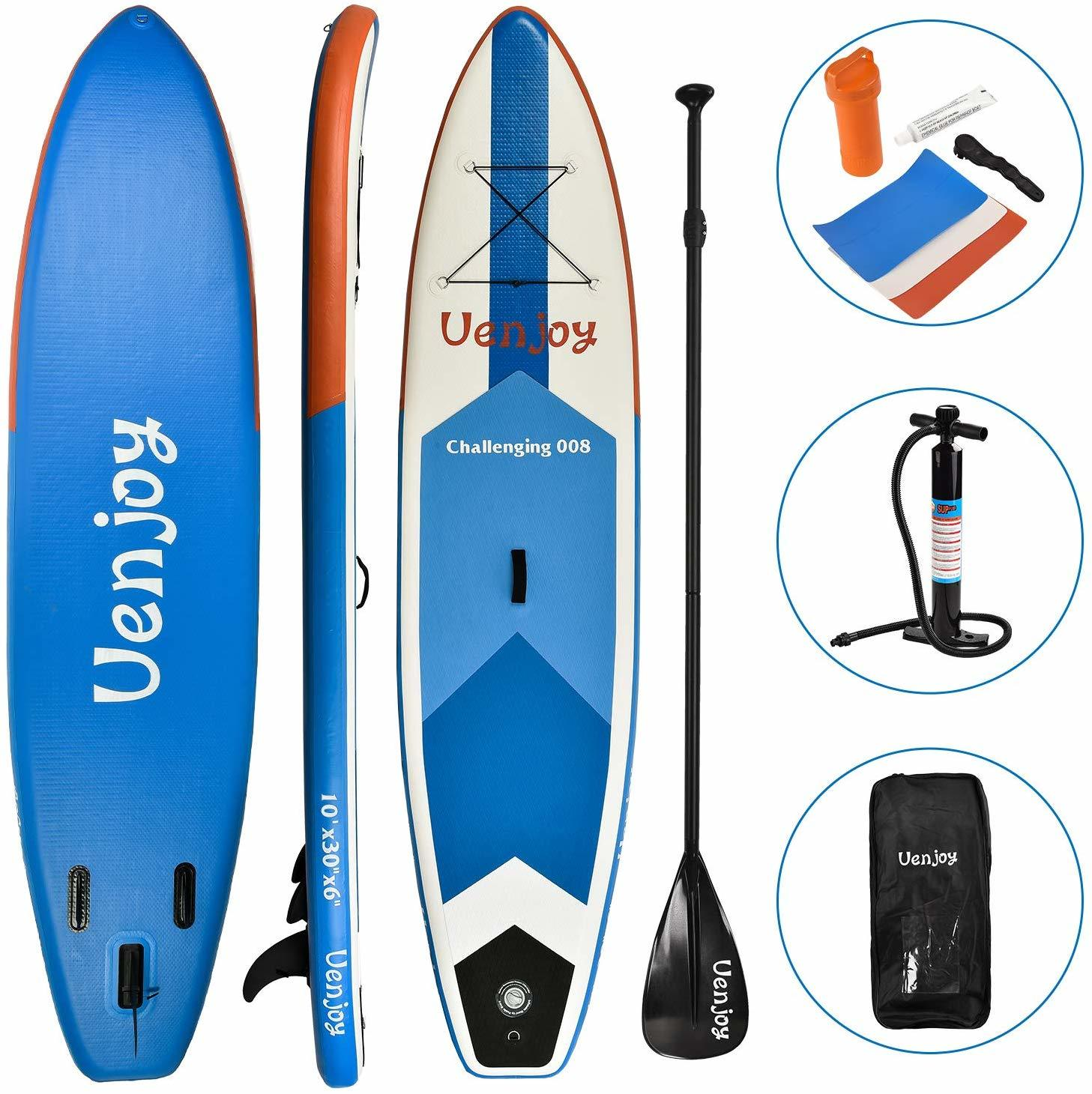 10 Best Inflatable SUP Board to Use During Your Water Expedition 7