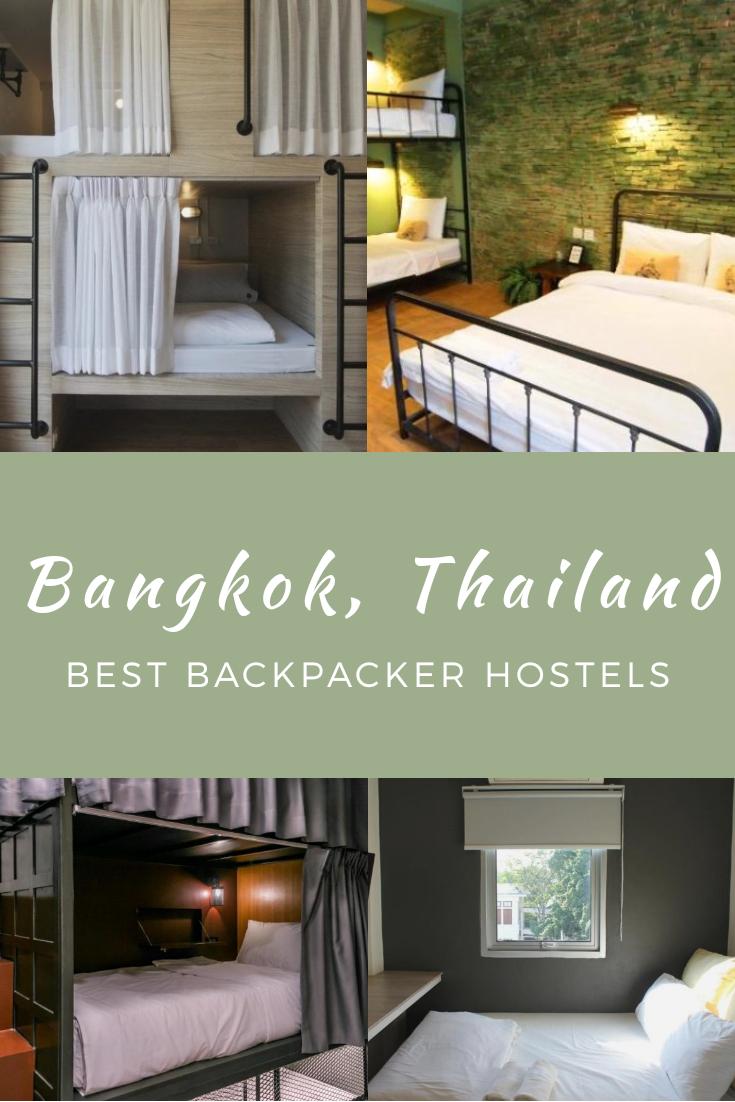 Best Backpacker Hostels in Bangkok, Thailand