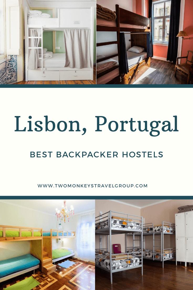 Best Backpacker Hostels in Lisbon, Portugal