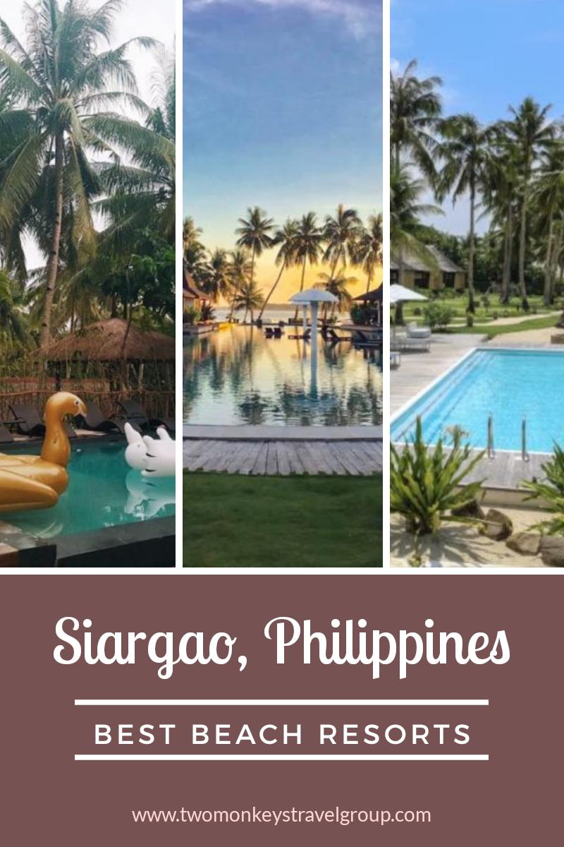 Best Beach Resorts in Siargao, Philippines