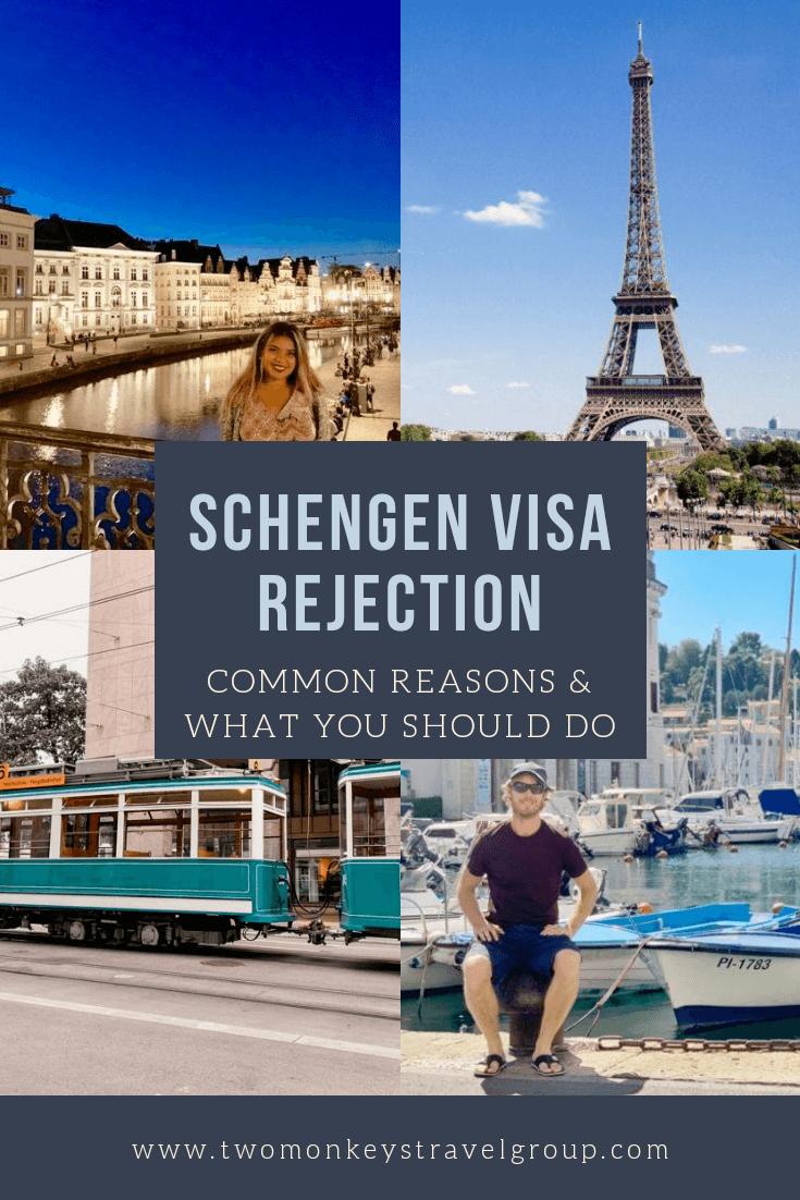 Denied Schengen Visa Common Reasons for Schengen Visa Rejection [And What You Should Do About It]