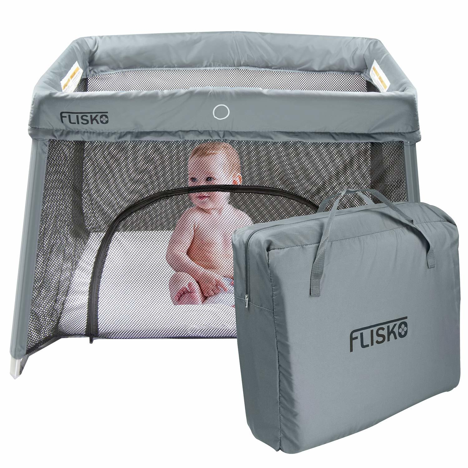 List of 10 Best Travel Cots for Traveling with a Baby 8