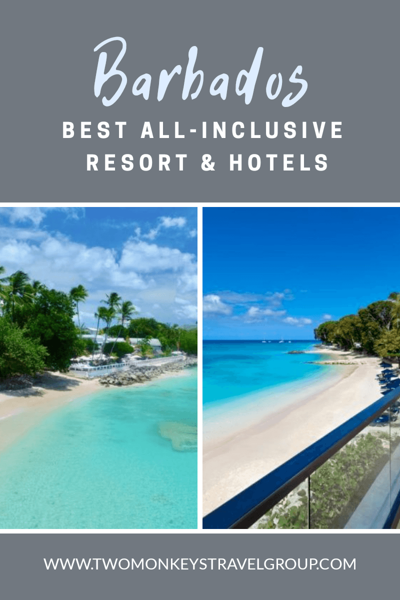 List of Best All Inclusive Resort and Hotels in Barbados