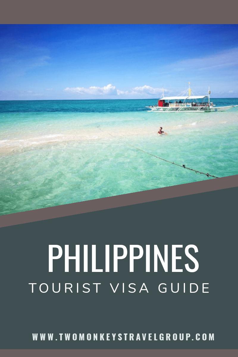 Tourist Visa Philippines