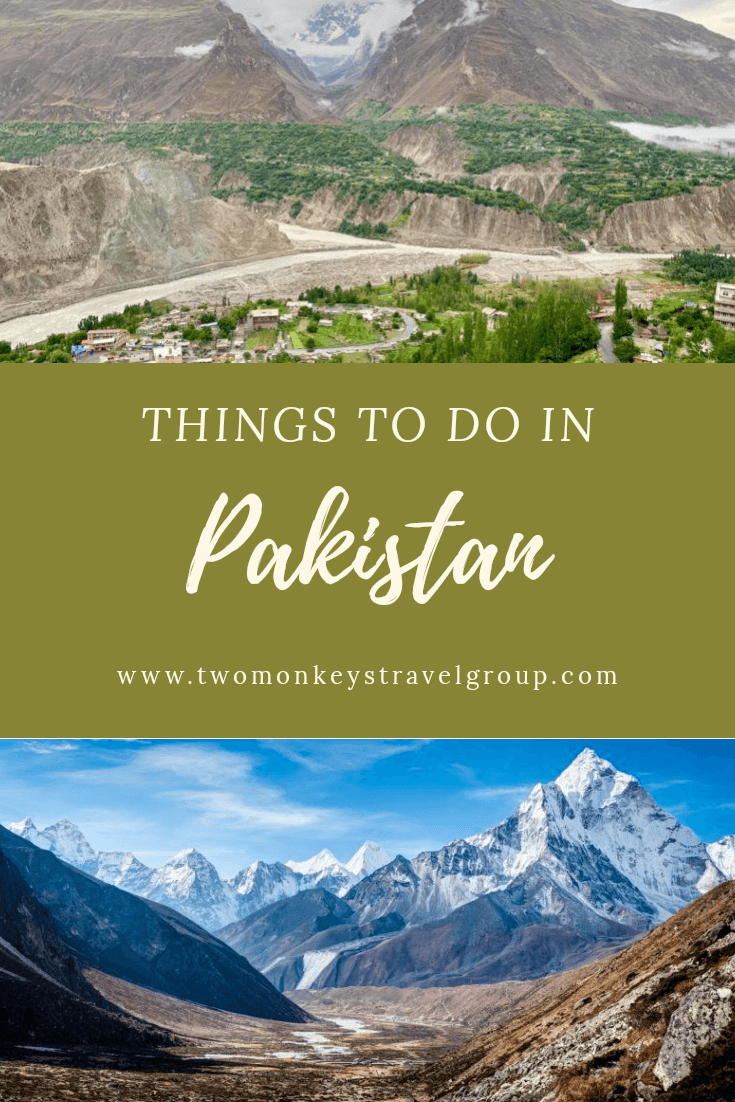 10 Things To Do in Pakistan Points of Interest, Activities and Experiences