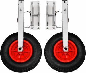 8 Best Dinghy Wheels You Can Choose to Move Your Dinghy Easily 1