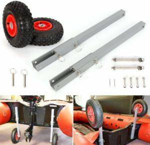 8 Best Dinghy Wheels You Can Choose to Move Your Dinghy Easily 2