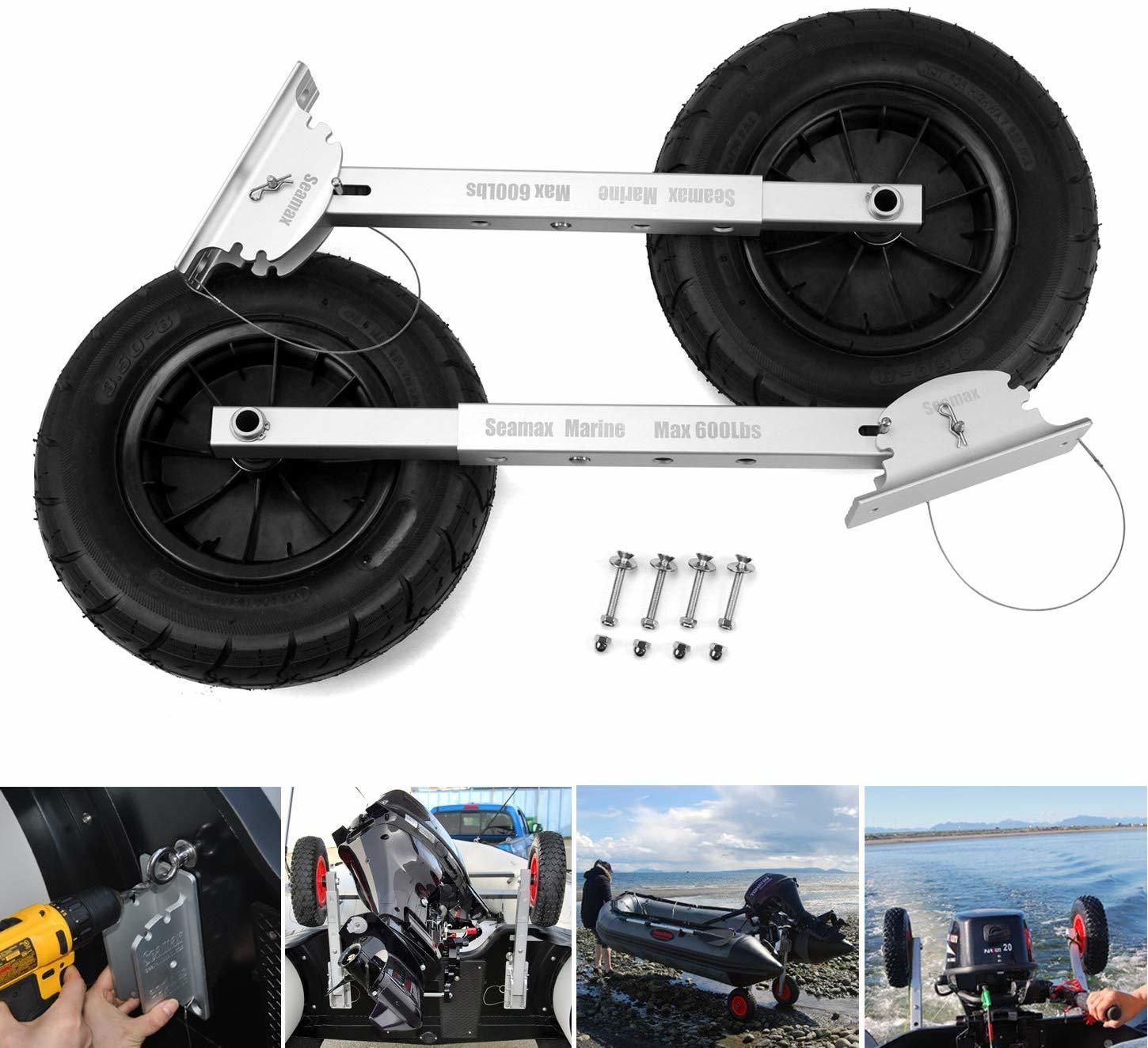 8 Best Dinghy Wheels You Can Choose to Move Your Dinghy Easily 6
