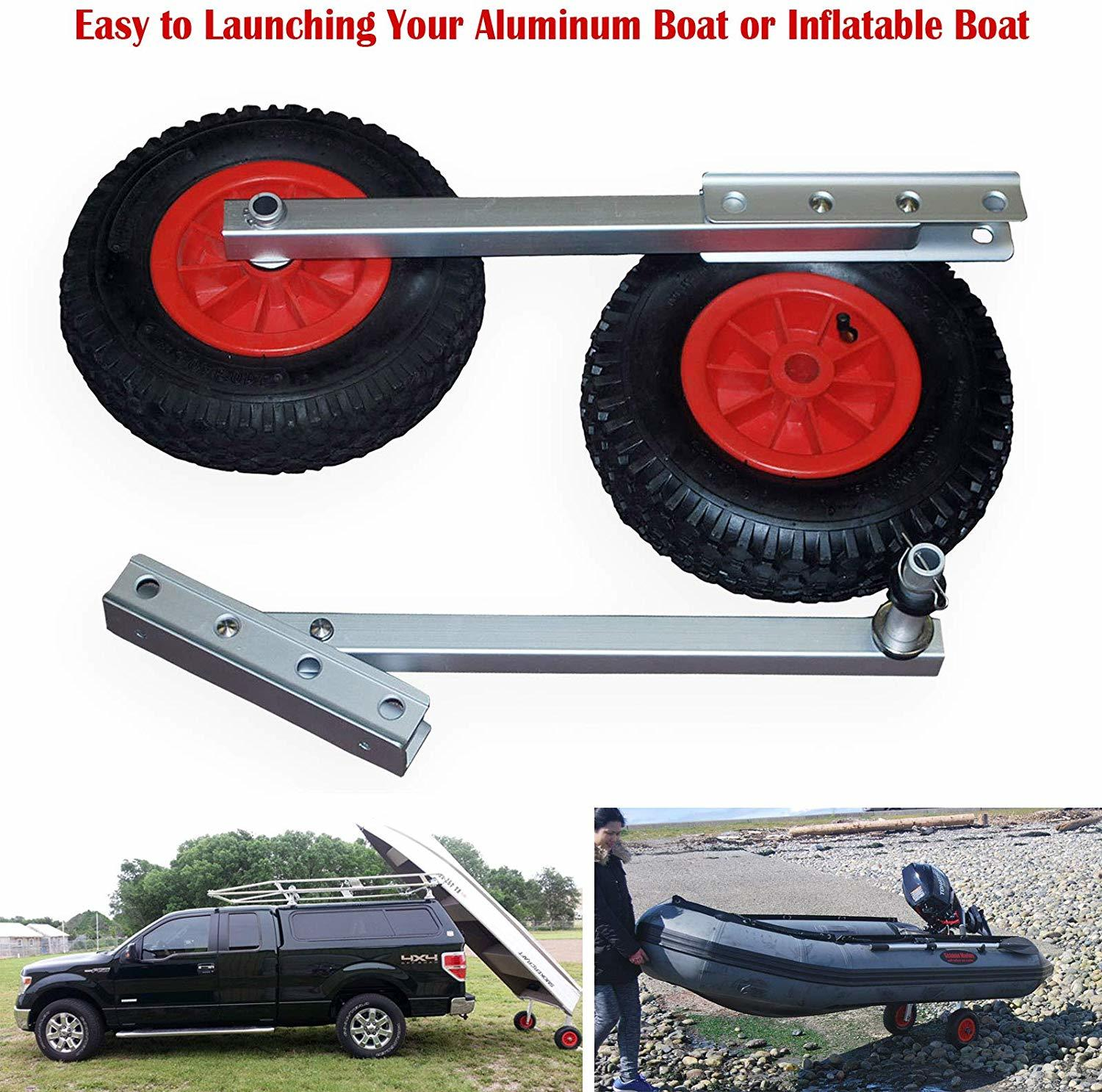 8 Best Dinghy Wheels You Can Choose to Move Your Dinghy Easily 7