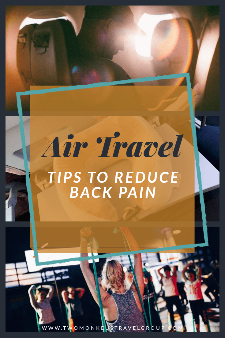 Tips To Reduce Back Pain From Air Travel1