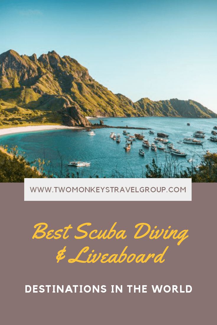20 Best Scuba Diving & Liveaboard Destinations In The World1