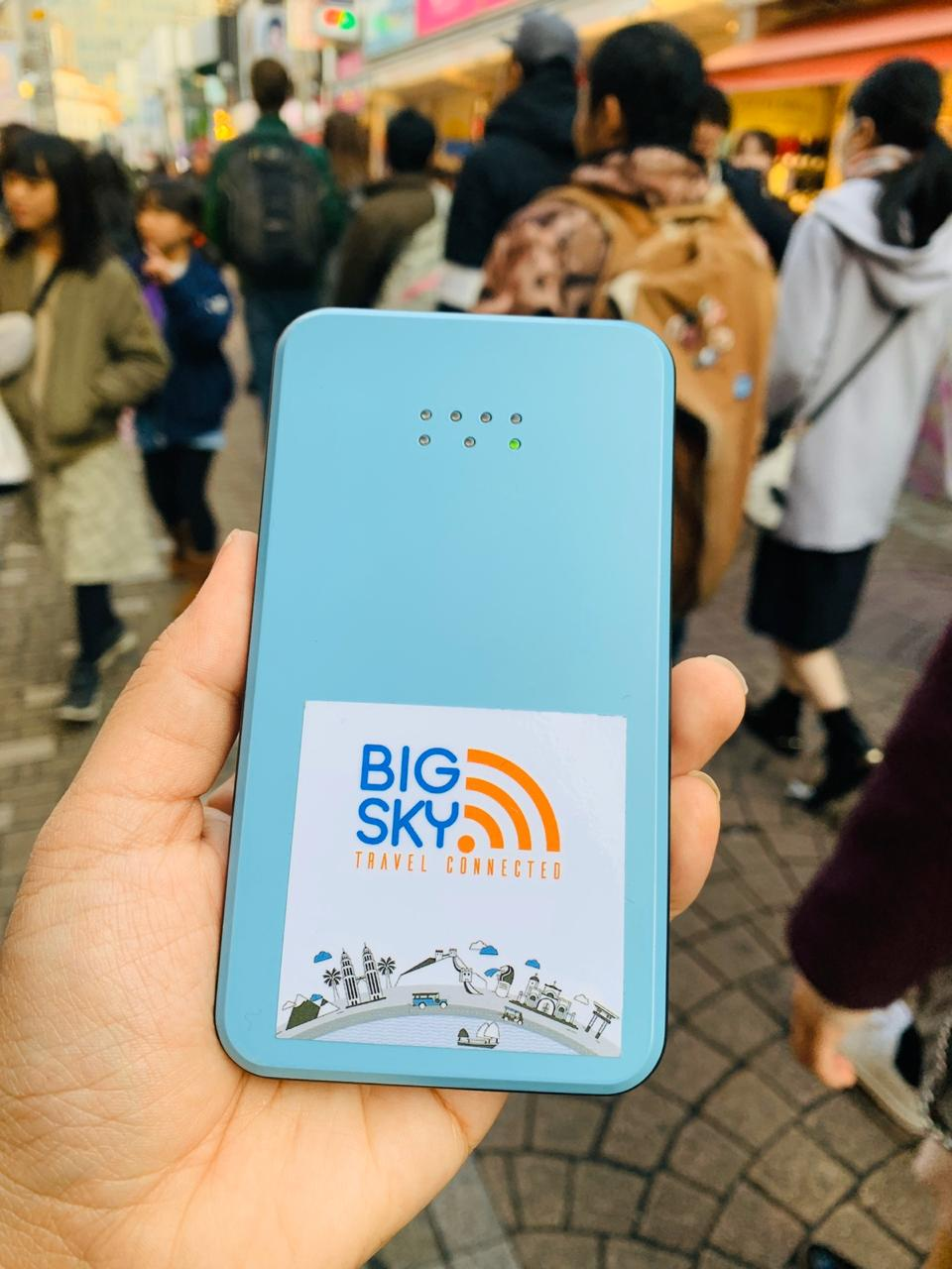 A Review on Big Sky Nation's Travel WiFi