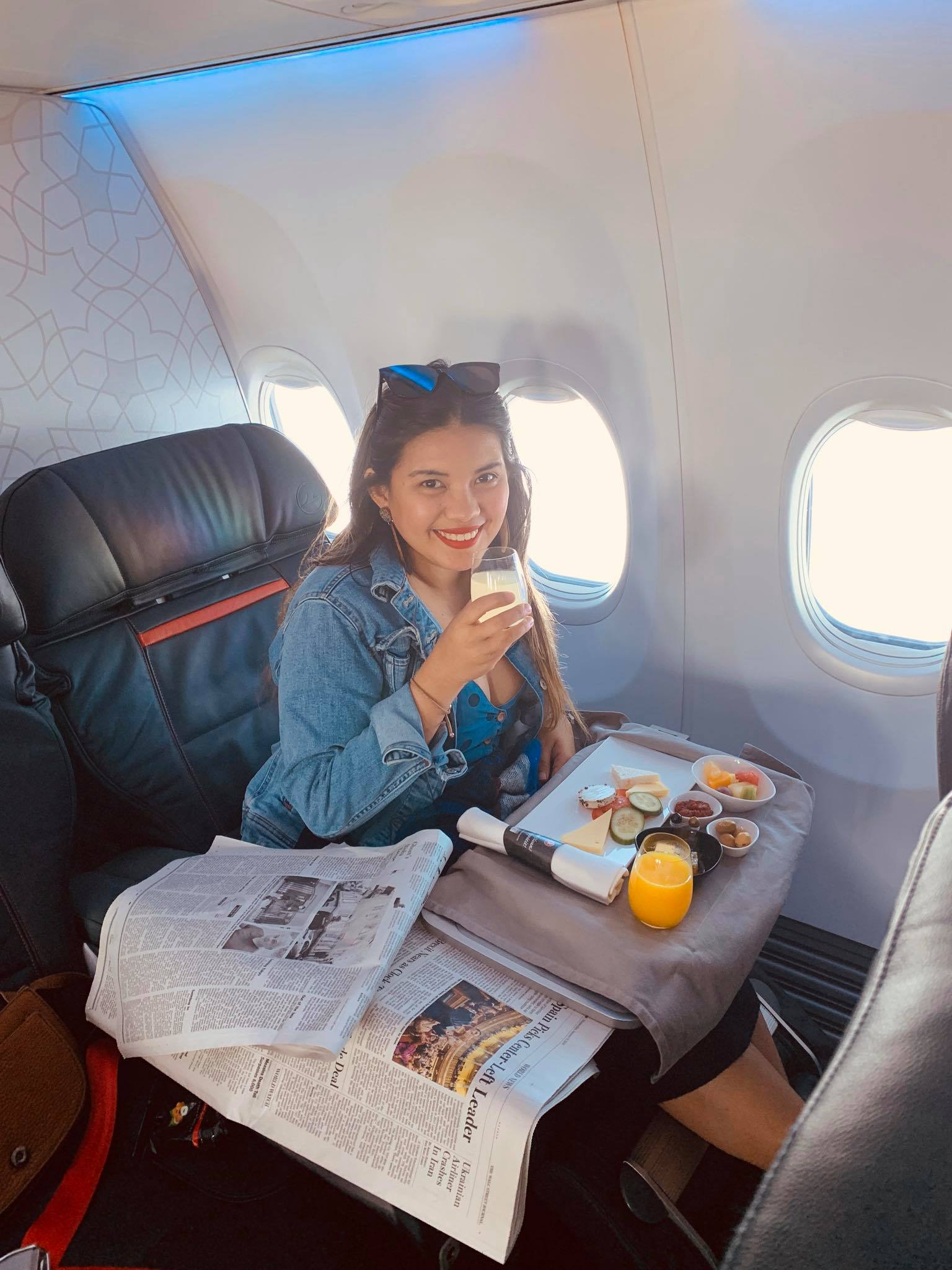 Flying Business Class from Montenegro to Philippines with Turkish Airlines12