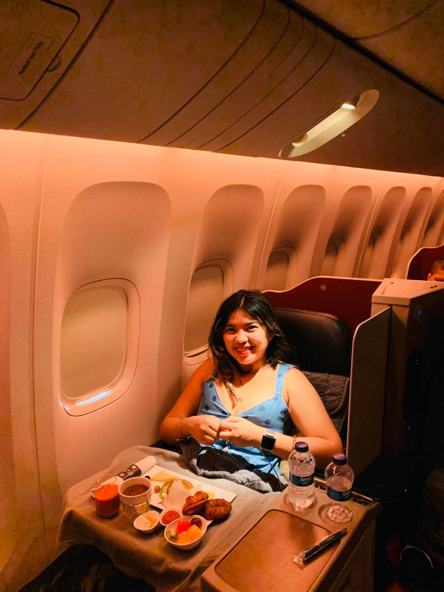 Flying Business Class from Montenegro to Philippines with Turkish Airlines20
