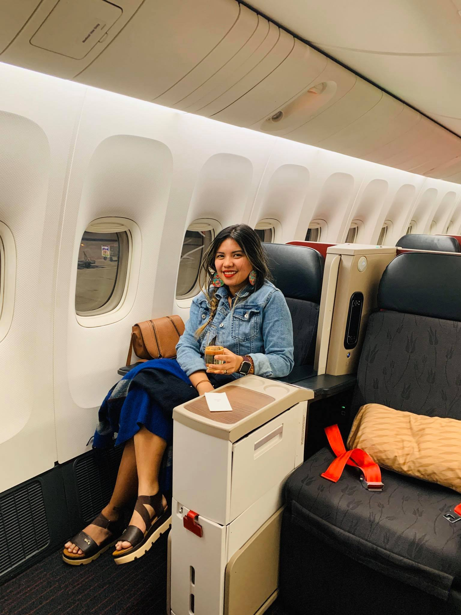 Flying Business Class from Montenegro to Philippines with Turkish Airlines