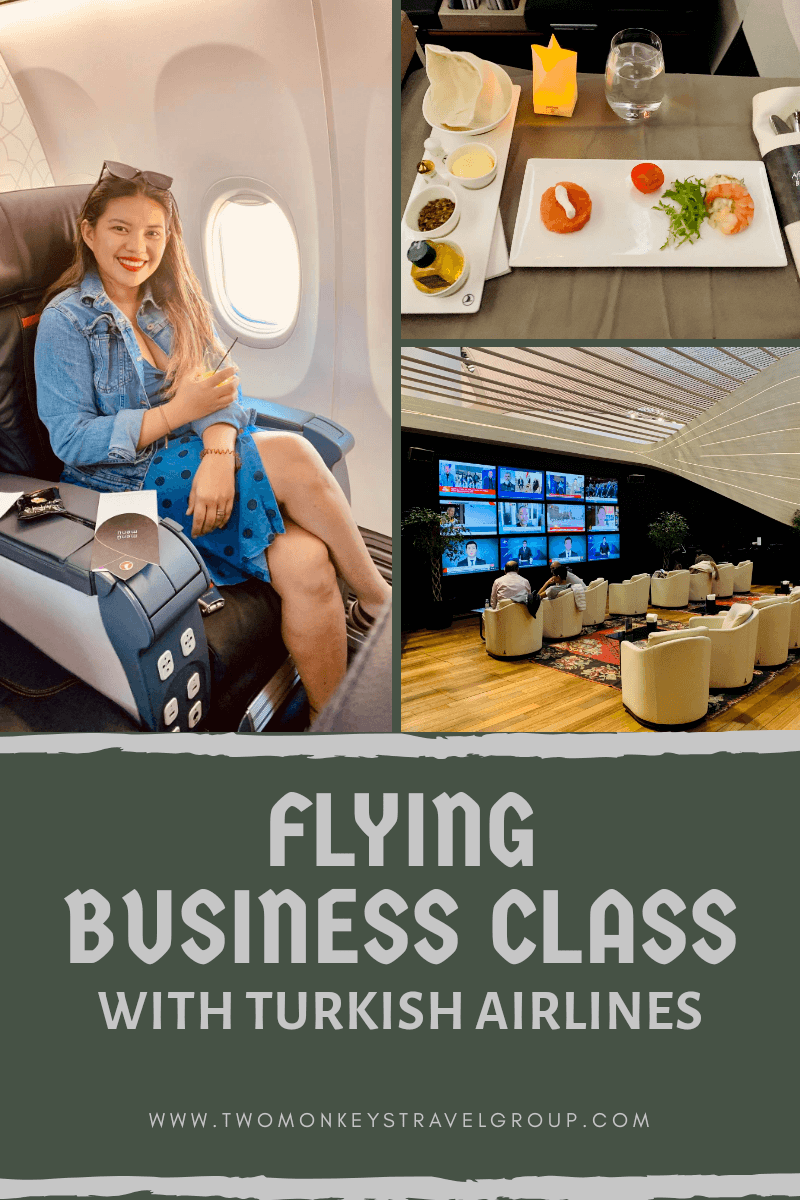 Flying Business Class from Montenegro to the Philippines with Turkish Airlines