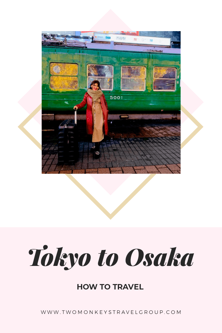 How To Travel From Tokyo To Osaka - Shinkansen Tips and Other Methods