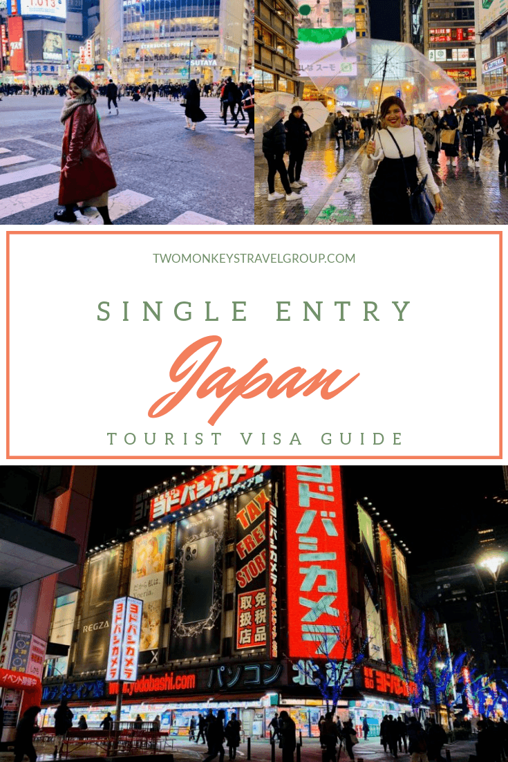 How to Apply For A Single Entry Japan Tourist Visa with Your Philippines Passport