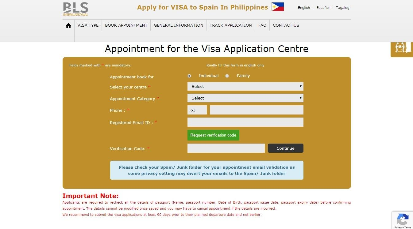 How to Apply For A Spain Schengen Tourist Visa with Your Philippines Passport