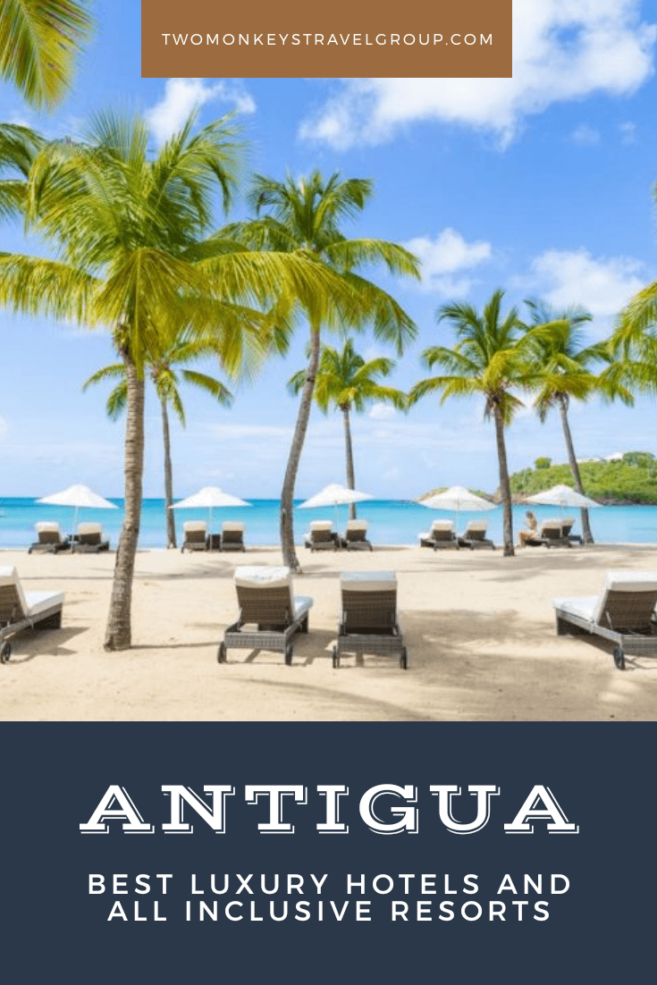 List of Best Luxury Hotels and All Inclusive Resorts in Antigua