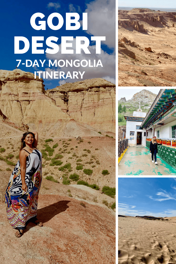 My Dream Trip To Mongolia A Perfect 7 Day Gobi Desert Itinerary