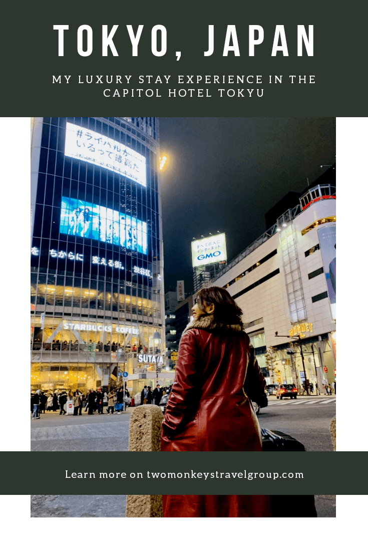 Solo Travels in Tokyo – My Luxury Hotel Stay Experience with The Capitol Hotel Tokyu