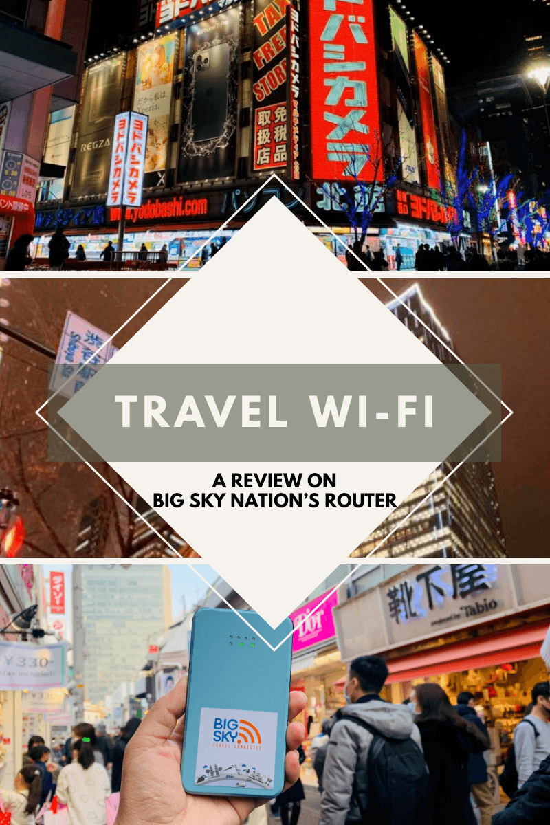 The Travel WiFi That I Used in Japan & South Korea A Review on Big Sky Nations Router