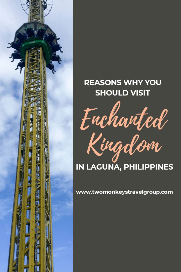 10 Reasons Why You Should Visit Enchanted Kingdom in Laguna, Philippines