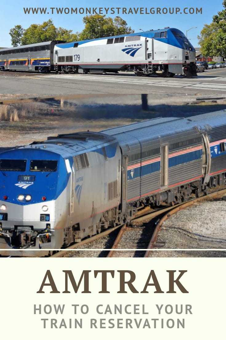 Amtrak Ticket Refund Policy How to Cancel Your Train Reservation with Amtrak