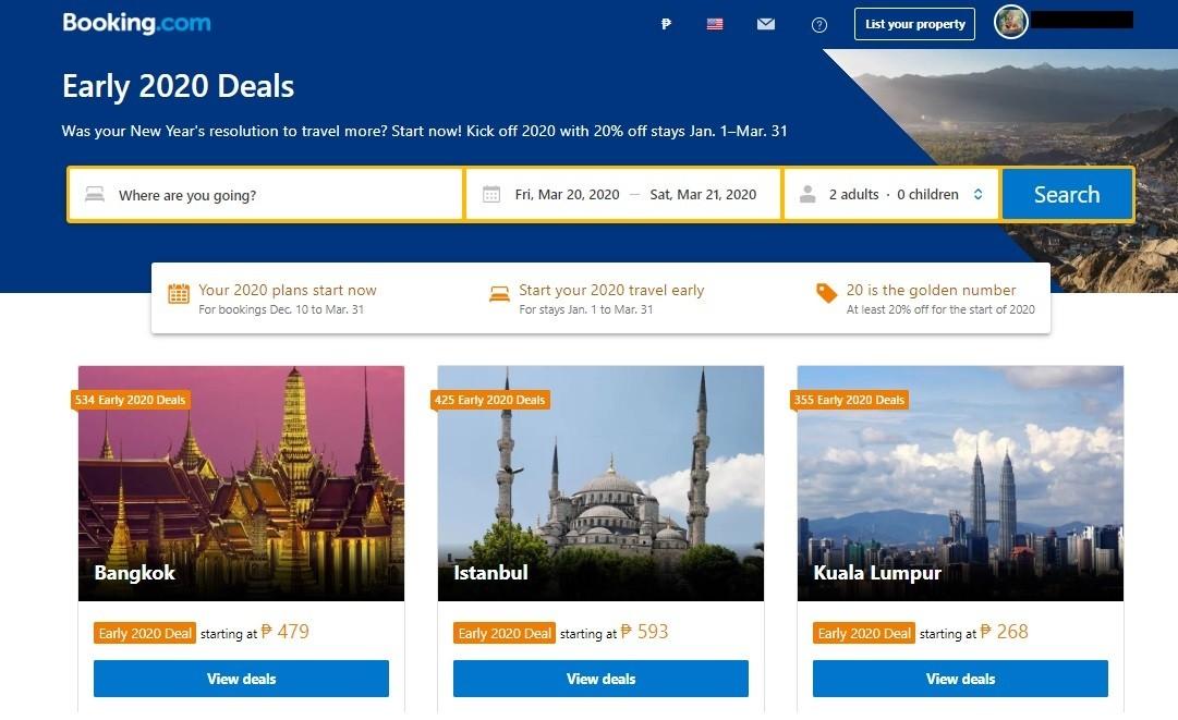 Booking.com Deals