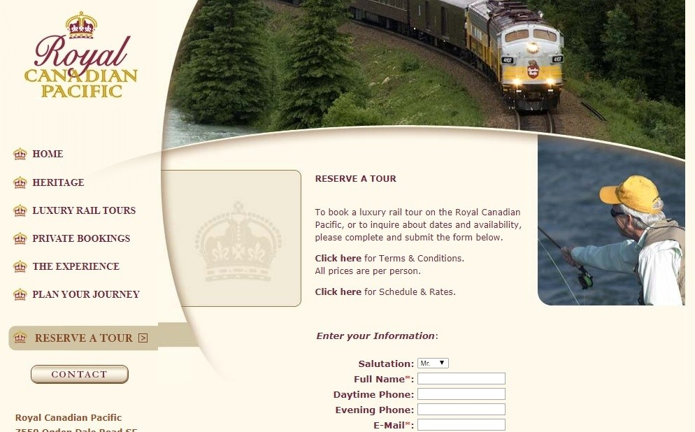 Canadian Pacific Railway Guide on Tickets and Refunds